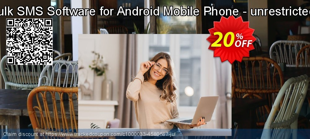DRPU Bulk SMS Software for Android Mobile Phone - unrestricted version coupon on Spring offer