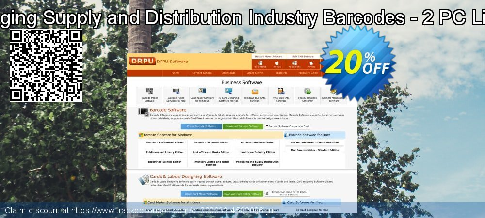 Packaging Supply and Distribution Industry Barcodes - 2 PC License coupon on April Fool's Day discounts
