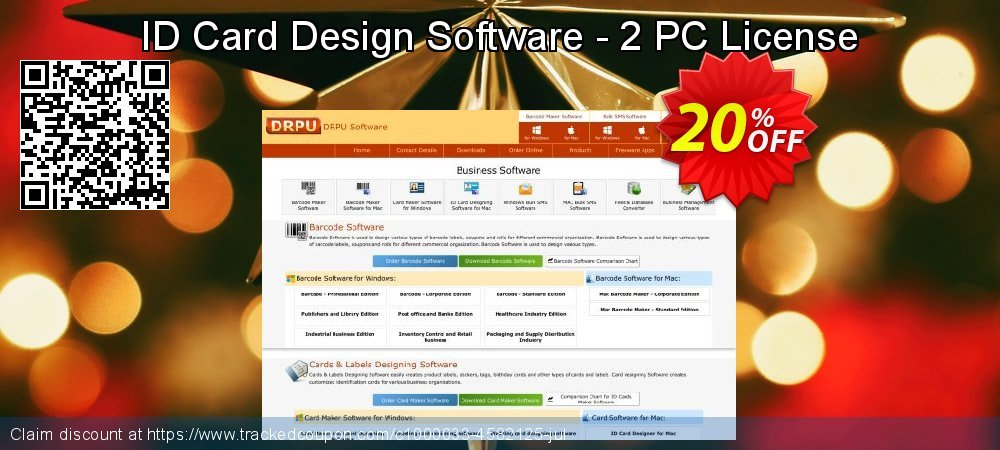 ID Card Design Software - 2 PC License coupon on Easter Sunday sales