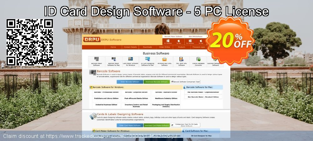 ID Card Design Software - 5 PC License coupon on Easter deals
