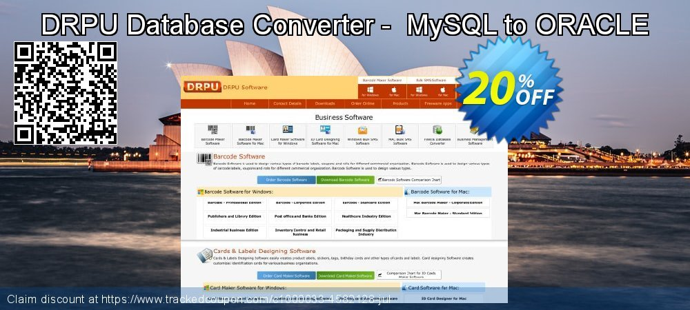 DRPU Database Converter -  MySQL to ORACLE coupon on April Fool's Day discount