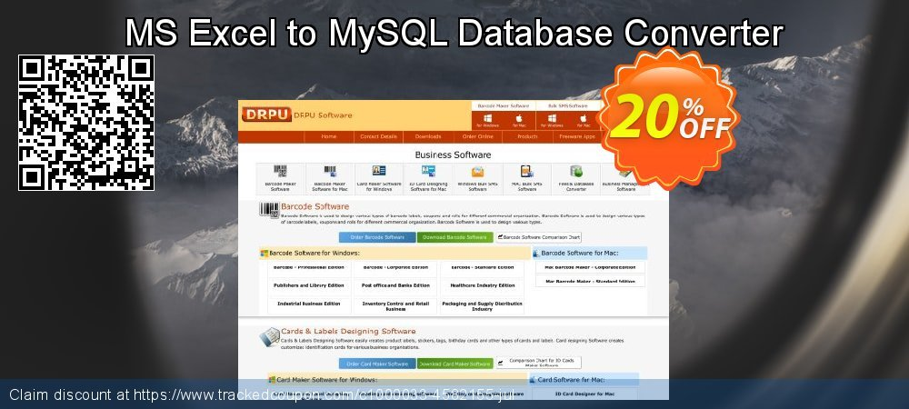 MS Excel to MySQL Database Converter coupon on Spring discount
