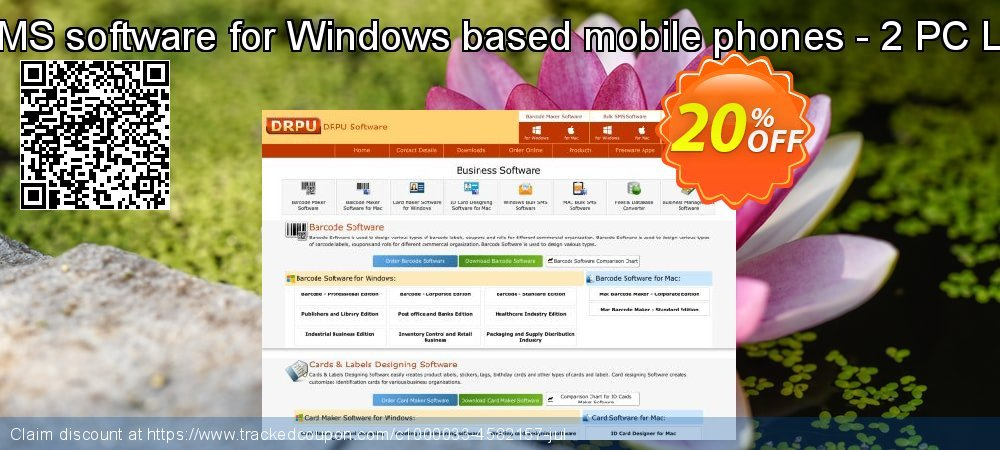 Bulk SMS software for Windows based mobile phones - 2 PC License coupon on Easter Sunday offering sales