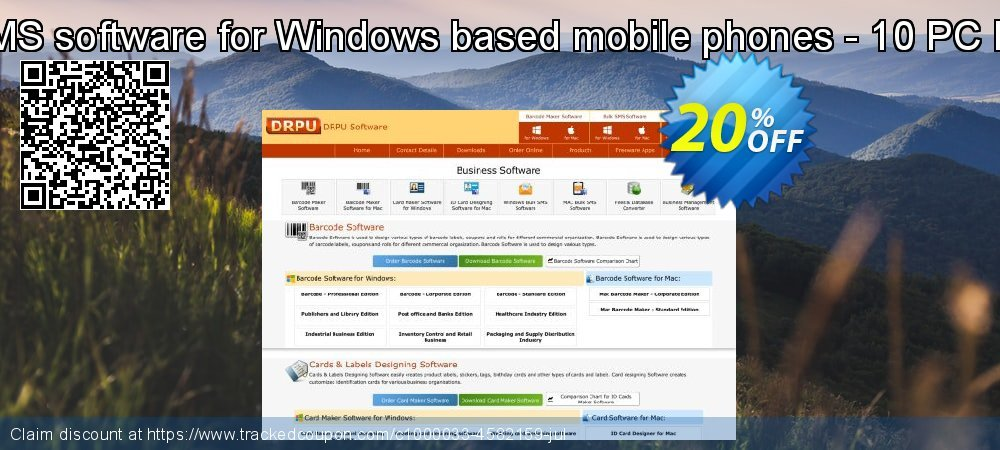 Bulk SMS software for Windows based mobile phones - 10 PC License coupon on Spring discounts