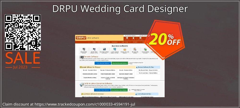 DRPU Wedding Card Designer coupon on Spring super sale