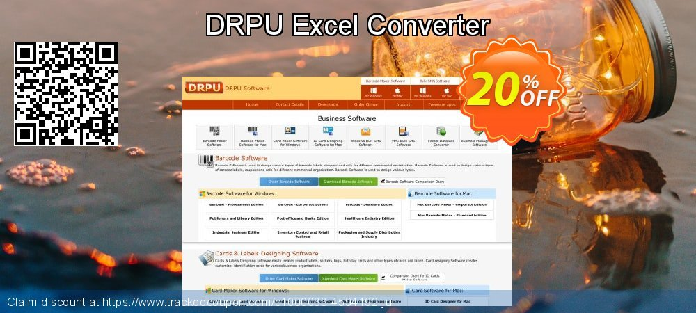 DRPU Excel Converter coupon on April Fool's Day discounts