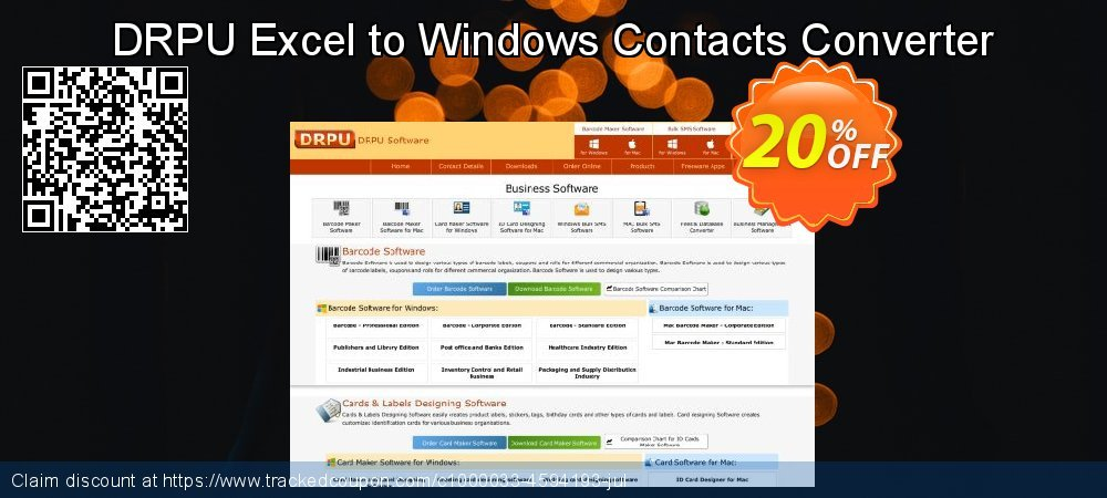 DRPU Excel to Windows Contacts Converter coupon on Easter Sunday promotions