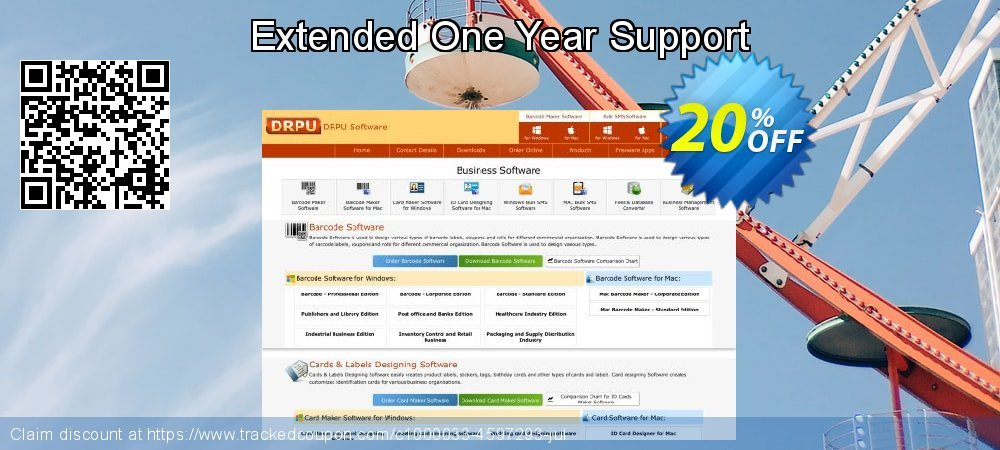 Extended One Year Support coupon on Easter Sunday discount