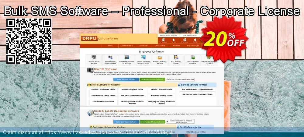 Bulk SMS Software – Professional - Corporate License coupon on Easter Sunday offering sales