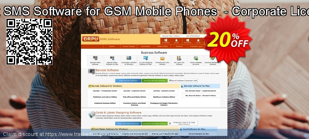 Bulk SMS Software for GSM Mobile Phones  - Corporate License coupon on April Fool's Day promotions