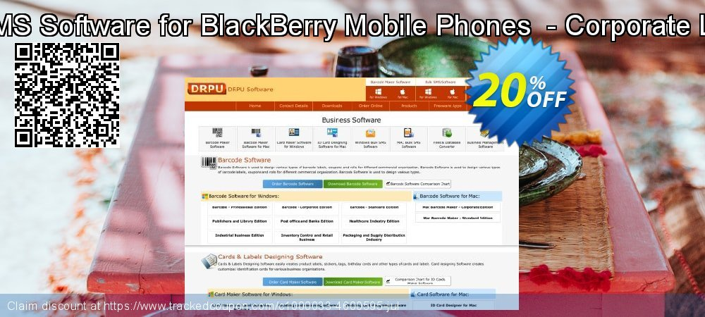 Bulk SMS Software for BlackBerry Mobile Phones  - Corporate License coupon on Spring offer