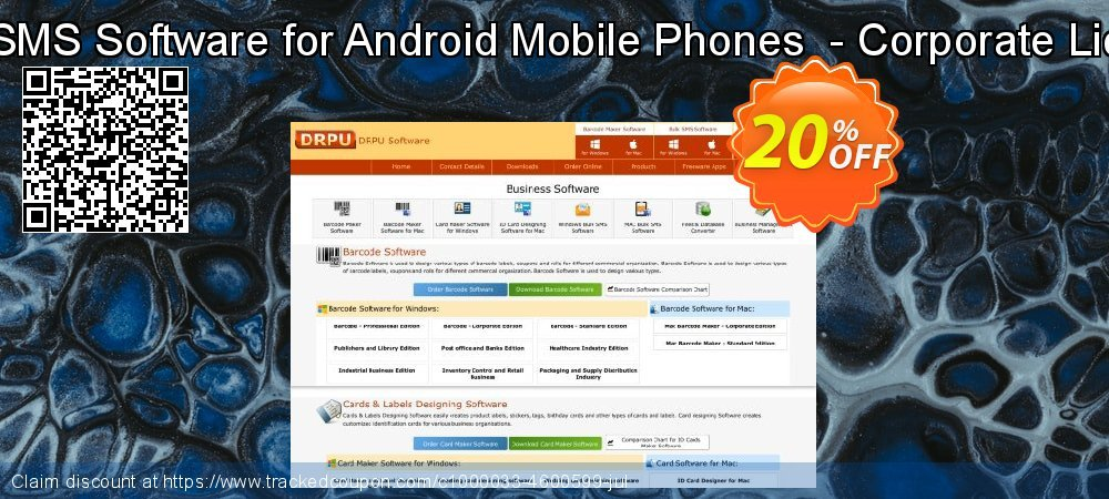 Bulk SMS Software for Android Mobile Phones  - Corporate License coupon on Spring super sale