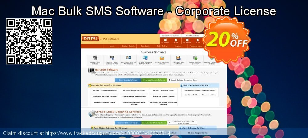 Mac Bulk SMS Software - Corporate License coupon on Easter Sunday promotions