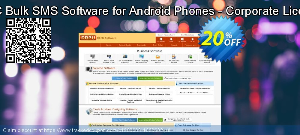 MAC Bulk SMS Software for Android Phones - Corporate License coupon on Easter sales