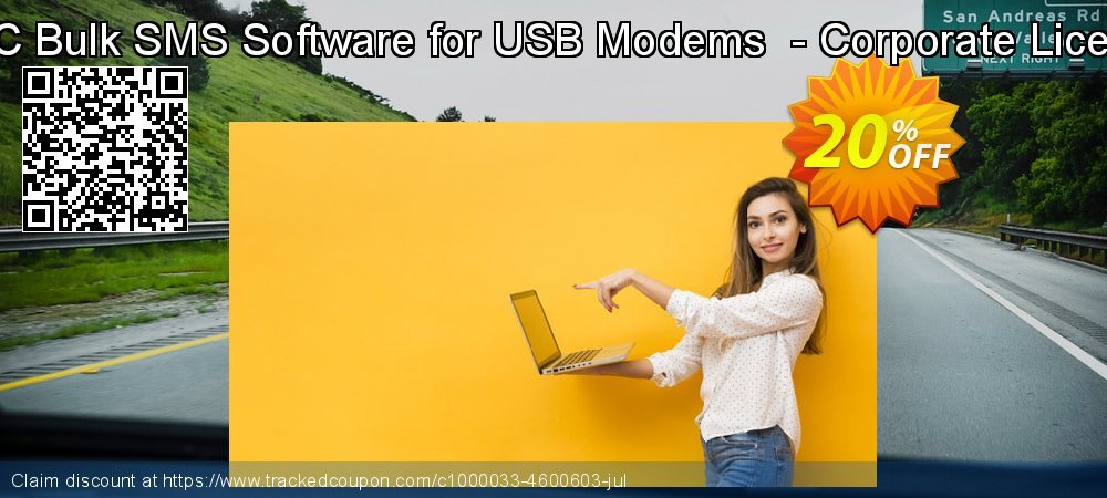 MAC Bulk SMS Software for USB Modems  - Corporate License coupon on Spring deals