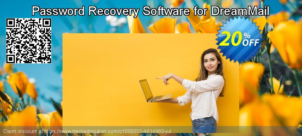 Password Recovery Software for DreamMail coupon on April Fool's Day offering sales
