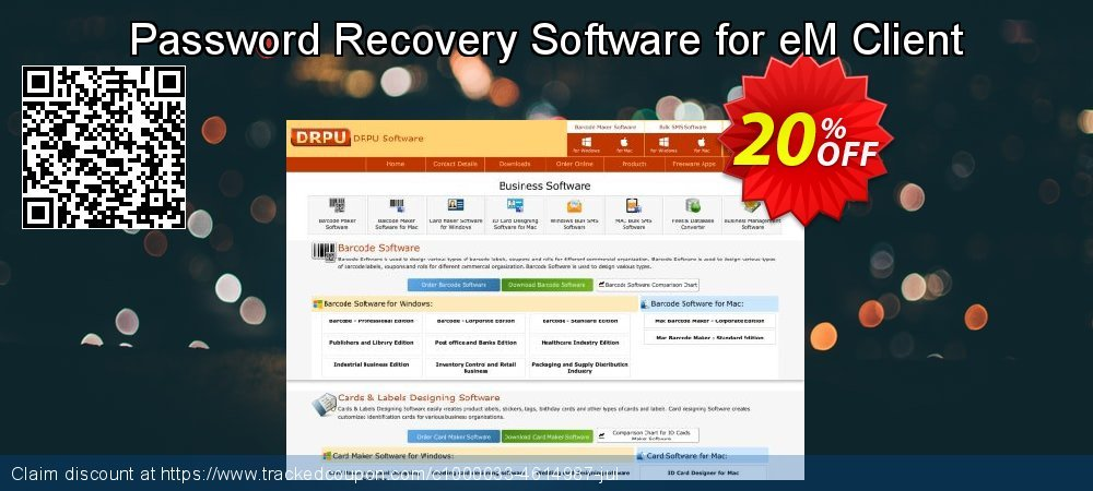 Password Recovery Software for eM Client coupon on Spring discount