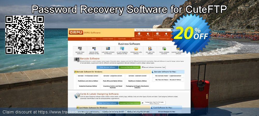 Password Recovery Software for CuteFTP coupon on Spring promotions