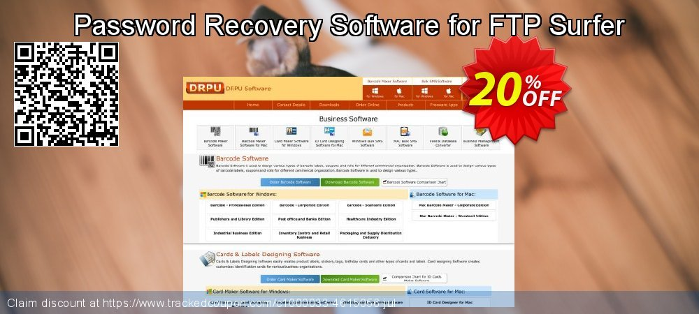Password Recovery Software for FTP Surfer coupon on April Fool's Day sales