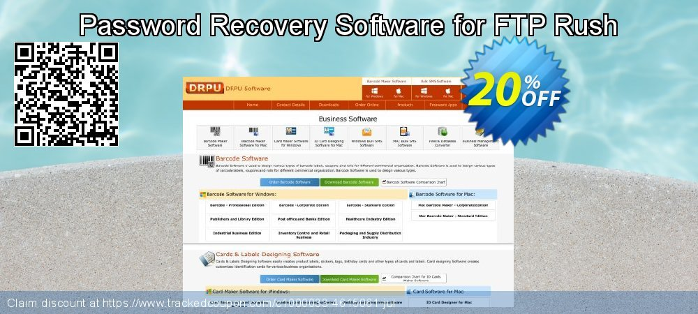 Password Recovery Software for FTP Rush coupon on Easter Sunday offering sales
