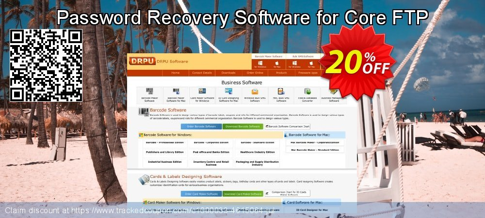 Password Recovery Software for Core FTP coupon on April Fool's Day promotions