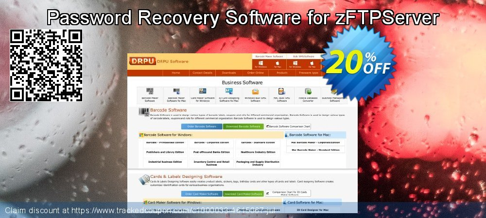 Password Recovery Software for zFTPServer coupon on Spring offer