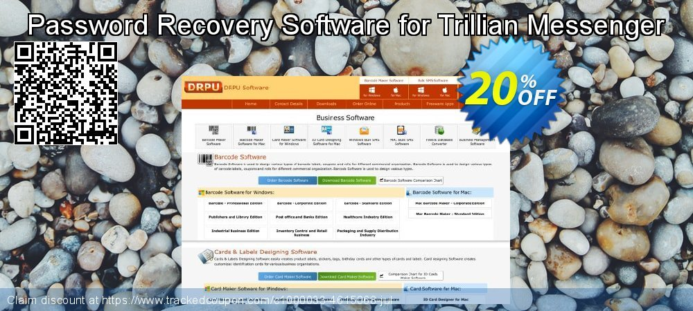 Password Recovery Software for Trillian Messenger coupon on April Fool's Day discount