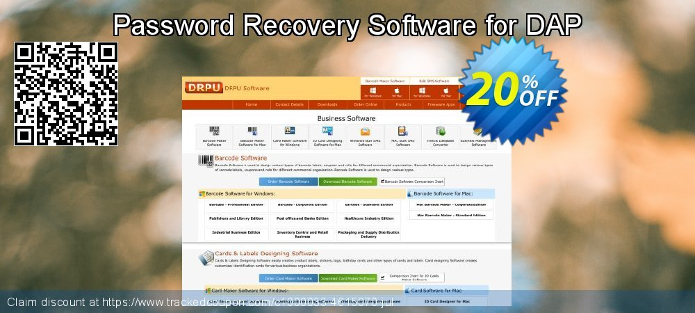 Password Recovery Software for DAP coupon on Easter offering sales