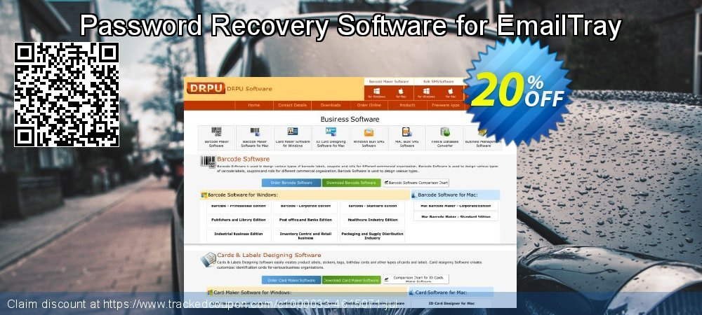 Password Recovery Software for EmailTray coupon on Spring super sale