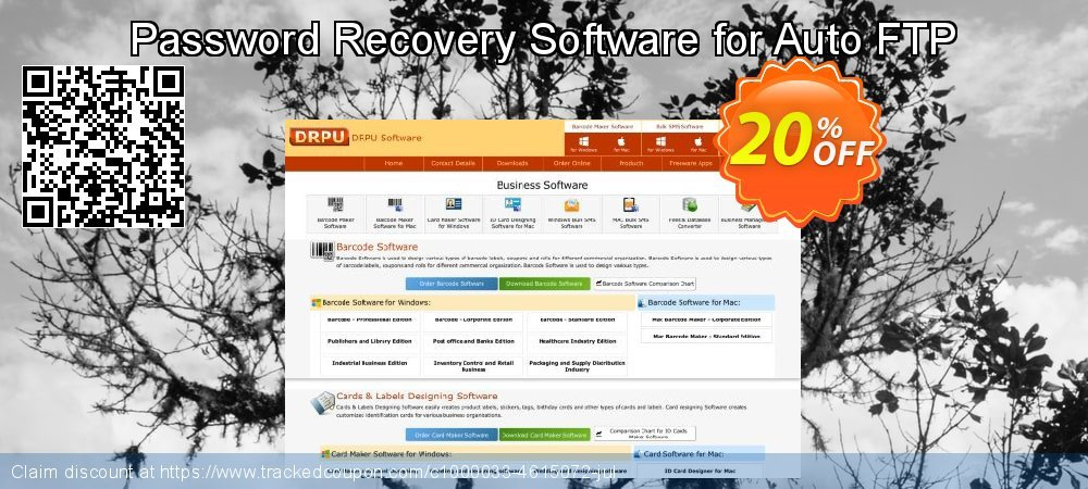 Password Recovery Software for Auto FTP coupon on April Fool's Day discounts
