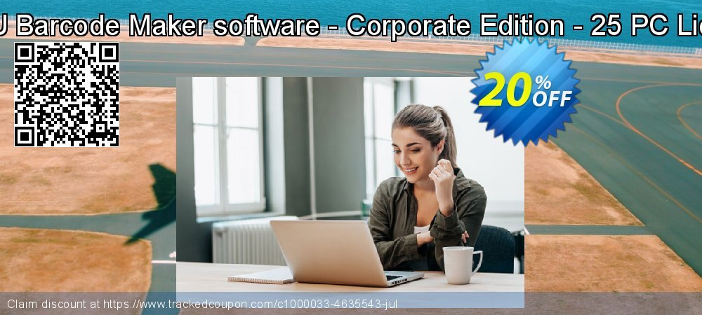DRPU Barcode Maker software - Corporate Edition - 25 PC License coupon on Spring discount