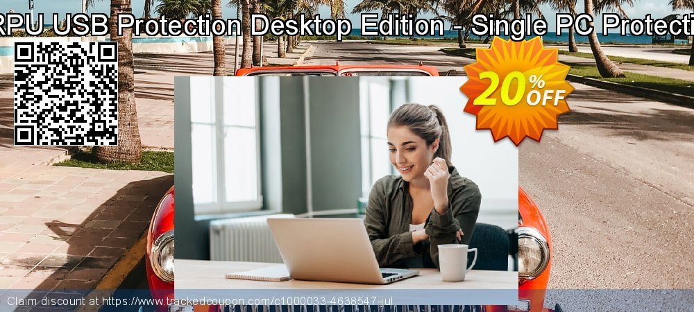 DRPU USB Protection Desktop Edition - Single PC Protection coupon on Spring deals