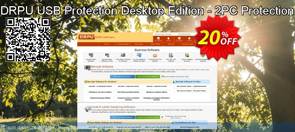 DRPU USB Protection Desktop Edition - 2PC Protection coupon on April Fool's Day offer