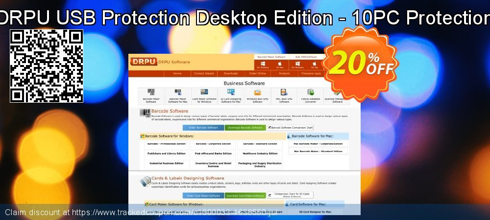 DRPU USB Protection Desktop Edition - 10PC Protection coupon on Easter offering discount