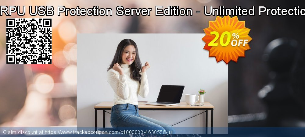 DRPU USB Protection Server Edition - Unlimited Protection coupon on April Fool's Day deals