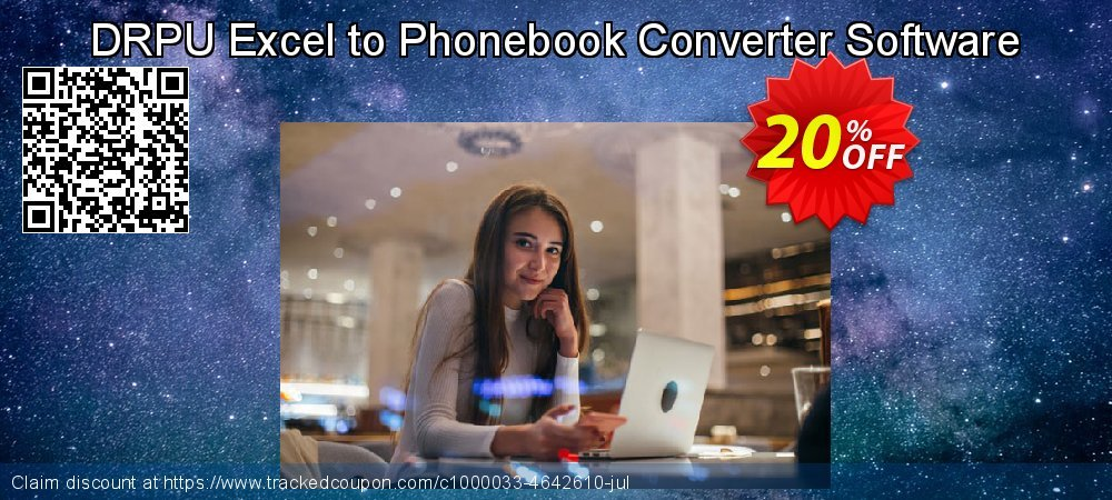 DRPU Excel to Phonebook Converter Software coupon on Easter offering sales