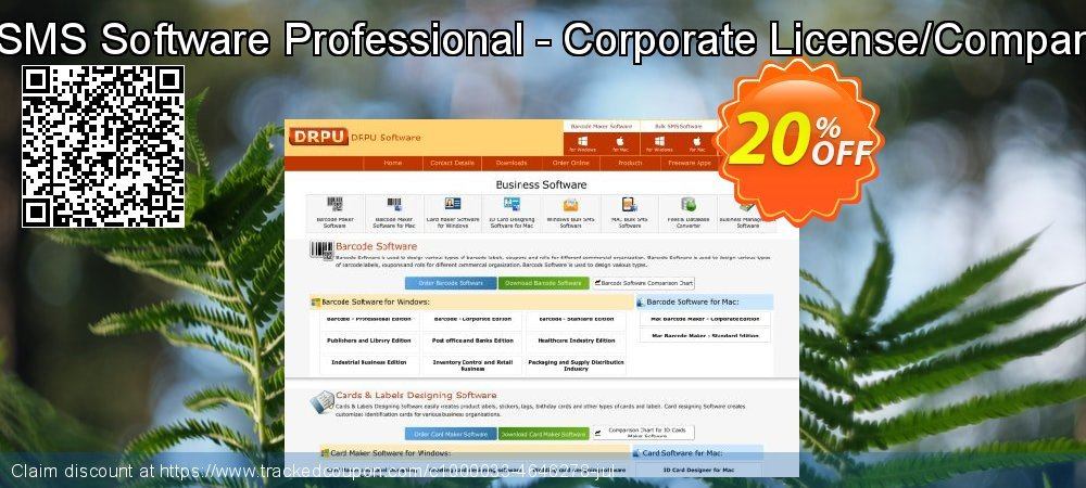 Mac Bulk SMS Software Professional - Corporate License/Company License coupon on Easter deals