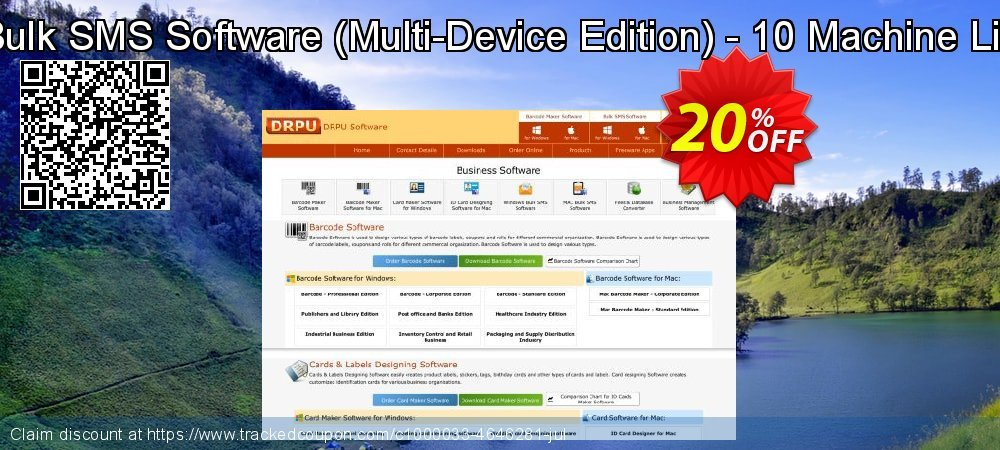 Mac Bulk SMS Software - Multi-Device Edition - 10 Machine License coupon on Easter Sunday offering discount