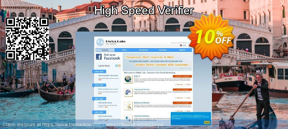 Get 10% OFF High Speed Verifier offering sales