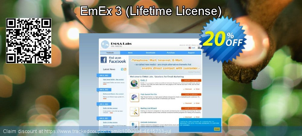 EmEx 3 - Lifetime License  coupon on Read Across America Day offer