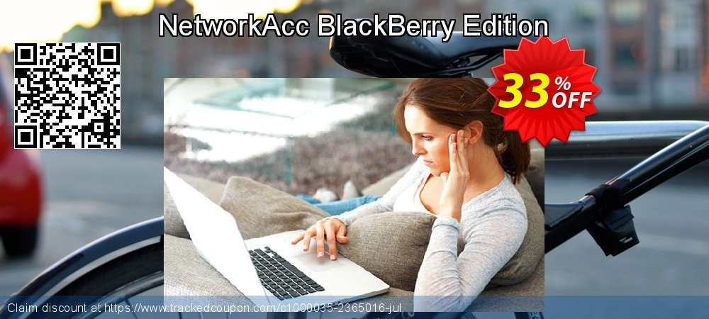NetworkAcc BlackBerry Edition coupon on Halloween offering discount