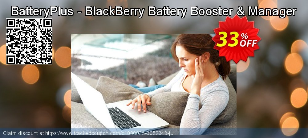 Get 30% OFF BatteryPlus - BlackBerry Battery Booster & Manager offering discount