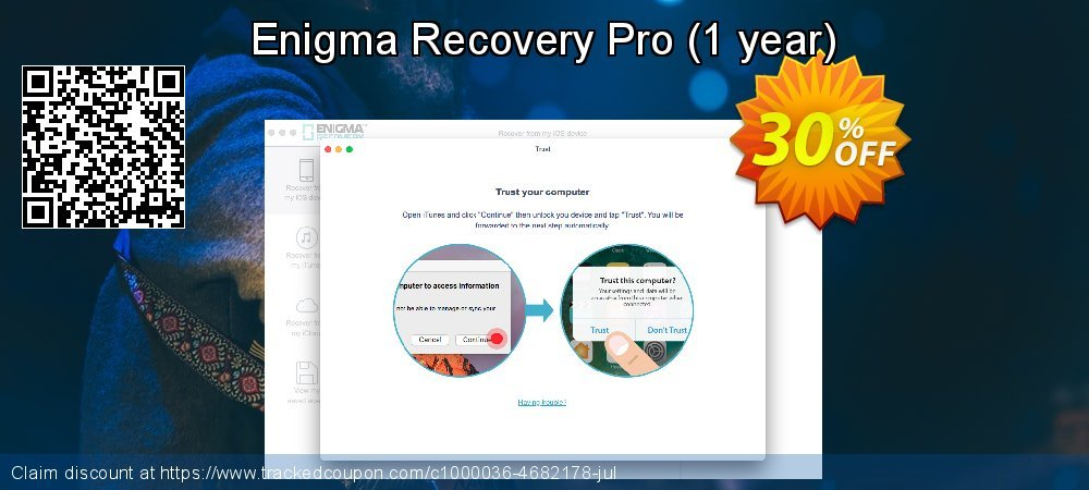 Claim 20% OFF Enigma Recovery Pro - 1 year Coupon discount January, 2020