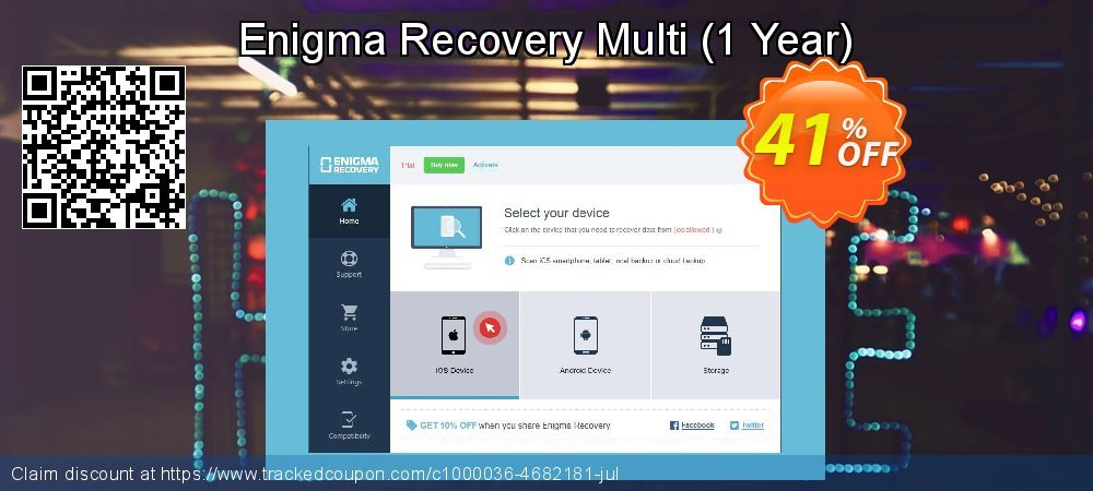 Claim 21% OFF Enigma Recovery Multi - 1 Year Coupon discount January, 2020