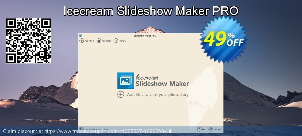 Get 20% OFF Icecream Slideshow Maker PRO offering deals