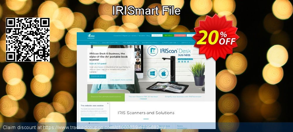 IRISmart File coupon on Easter offering sales