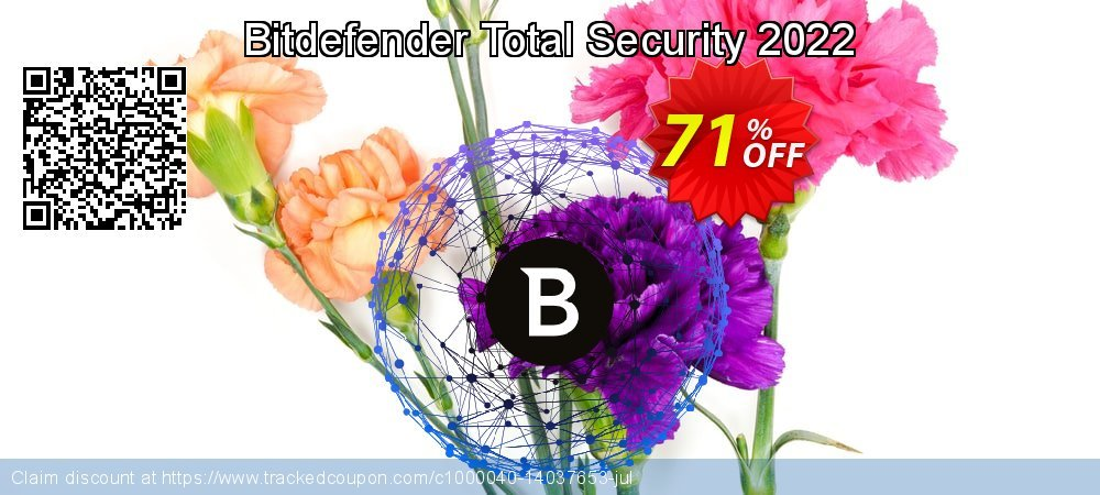 Bitdefender Total Security 2021 coupon on Mothers Day deals