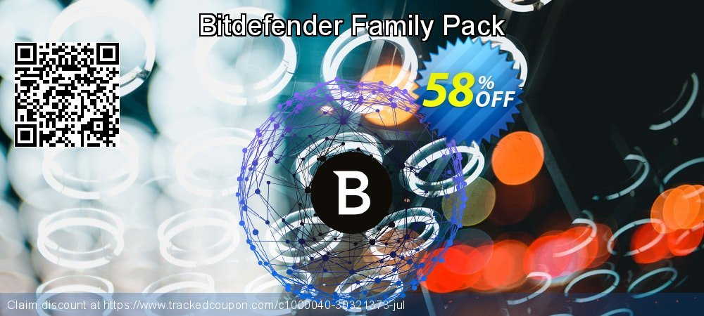 Bitdefender Family Pack coupon on Mothers Day discount