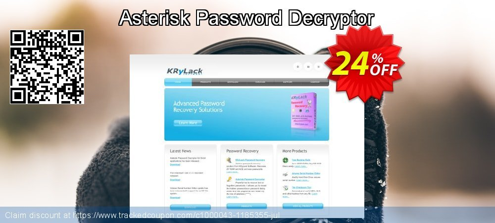 Asterisk Password Decryptor coupon on Halloween promotions