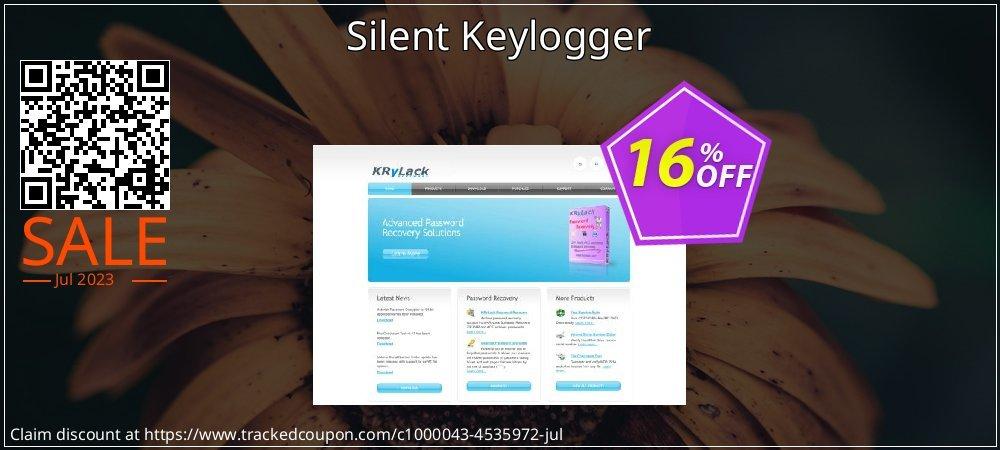 Get 15% OFF Silent Keylogger offering sales